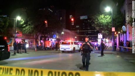 Attacker in Austin, Texas, wounds 13 in shooting and escapes