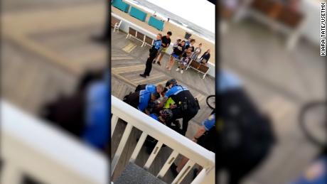 Video shows Ocean City police use force on teens while trying to enforce asmoking and vaping