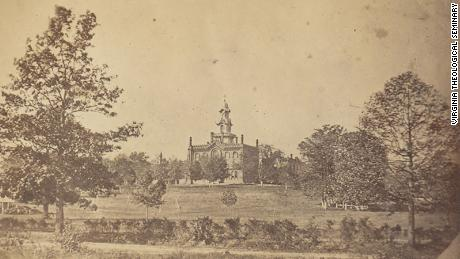 One of the oldest known photos of the seminary -- taken in 1863, during the Civil War.