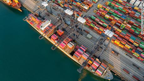 A huge backlog at China's ports could spoil your holiday shopping this year