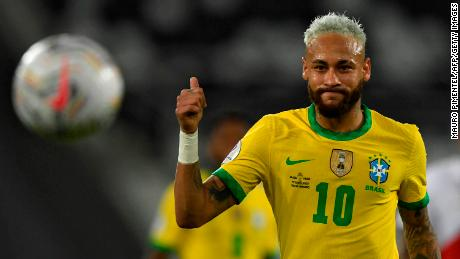 68 international goals for Neymar and counting.