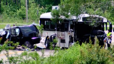 Head-on bus crash leaves three people dead, multiple injured