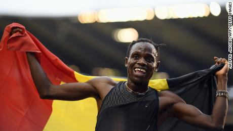 The middle distance runner is looking forward to representing Belgium this summer in the men's 5000m and 10000m.