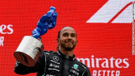 Hamilton tuvo que conformarse con el segundo lugar en el Gran Premio de Francia.