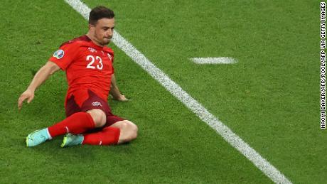 Xherdan Shaqiri a marqué deux fois contre la Turquie.