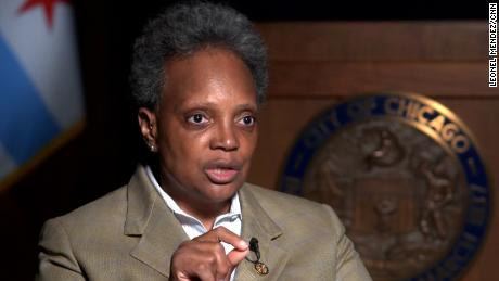 Chicago Mayor Lori Lightfoot says relying primarily on law enforcement to fight crime, without other support for communities, doesn't work.