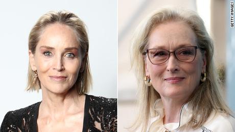 Stone (left) says she's a better screen villain than Streep.