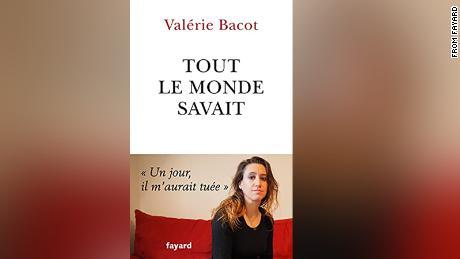 """The cover of the French edition of Valerie Bacot's book, """"Tout le Monde Savait"""" (""""Everyone Knew""""), published in May 2021."""