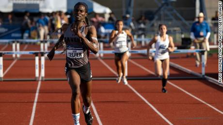 Transgender runner CeCe Telfer is ruled ineligible to compete in US Olympic trials