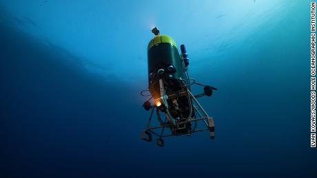 Mesobot is an underwater robot designed to track and record high-resolution images of slow-moving and often delicate fauna living in the ocean twilight zone.