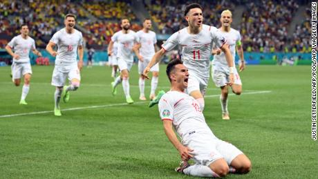 Mario Gavranovic equalized for Switzerland in the 90th minute.