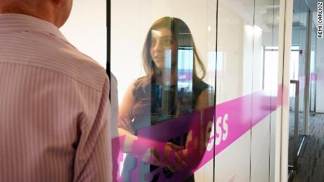 Co-founded by Rana el Kaliouby (pictured) and Rosalind Picard, Affectiva has offices in Boston, US, and Cairo, Egypt.
