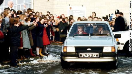 Car given to Princess Diana from Prince Charles sells for $72,000