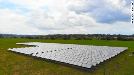 Hydropanels installed at a school in Veresdale, Australia.