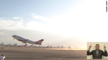 Virgin Orbit launches its first commercial satellites into space