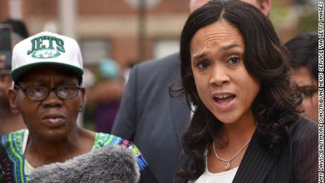 Baltimore State's Attorney Marilyn Mosby, seen here in 2016, says the Freddie Gray case instigated a new push for stronger police accountability laws