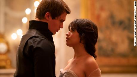 Nicholas Galitzine and Camilla Cabello in 'Cinderella.'