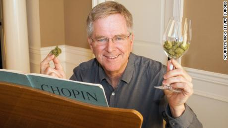 Rick Steves: Pot is now used by Mom and Dad. And Grandma's rubbing it on her elbows