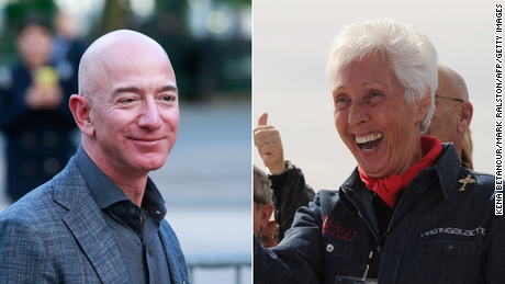 An 82-year-old woman trained to be an astronaut sixty years ago. Now she's going to space with Jeff Bezos