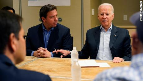 Biden reprises role as consoler-in-chief during South Florida visit