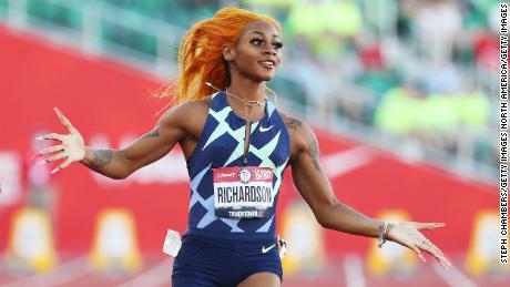 Sha'Carri Richardson promises to be world champ -- next year