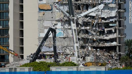 The 7-year-old daughter of a Miami firefighter is among the Surfside, Florida, building collapse victims