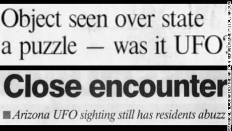 Strange lights seen in the skies above Phoenix on March 13, 1997, made headlines across the nation.