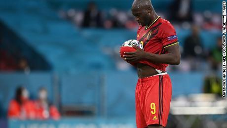 Romelu Lukaku halved the deficit for Belgium, but it wasn't enough.