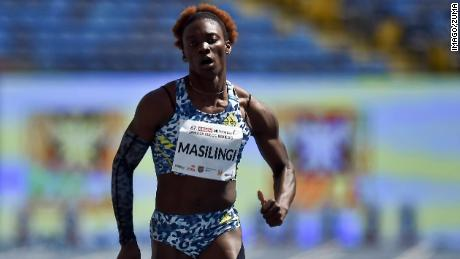 Beatrice Masilingi's 49.53 seconds in Zambia in April is the third fastest 400m time of the year.
