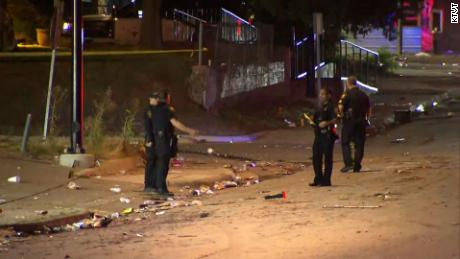 8 people shot near a Texas car wash after an argument