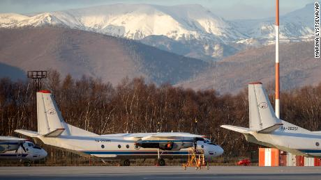 Plane carrying 28 passengers crashes in Russia's far east