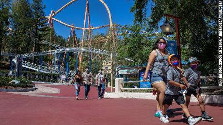 Theme park stocks are on fire as the summer heats up