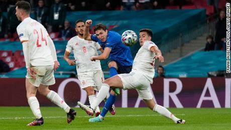 Federico Chiesa curled home a brilliant goal to open the scoring.