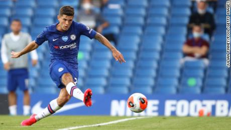 The 22-year-old football star is scheduled to return to the pitch for the start of Chelsea's pre-season in August.