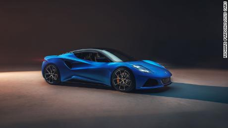 """The Lotus Emira is intended as a design showpiece for the brand. """"It's one of those cars you will want to look back at when you walk away from it,"""" managing director Matt Windle said."""