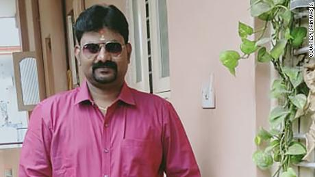 Srinivas S. drives for a living to support his wife and two young sons.