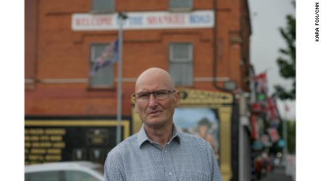 """Progressive Unionist Party leader Billy Hutchinson: """"I've seen the trouble starting when we didn't have troubles. They start for a reason, and the same thing can happen again. So people need to be very careful."""""""