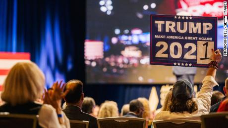 Trump's false election claims persist at conservative gathering in Texas