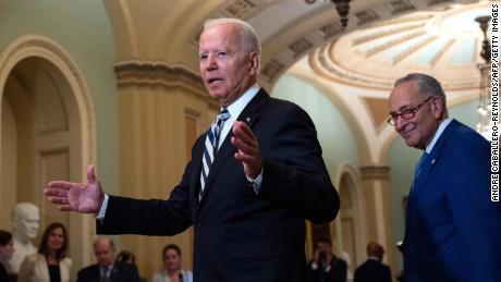 Top Biden economic aides join Senate Democrat call in push before debt ceiling fight