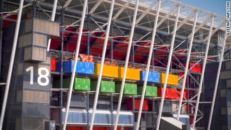 After the World Cup, the site will be transformed into a retail space and a large public park.