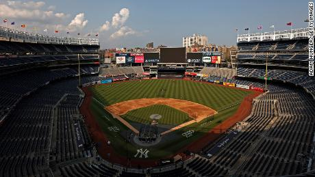 Game postponed after 6 New York Yankees have tested positive for Covid-19, team says