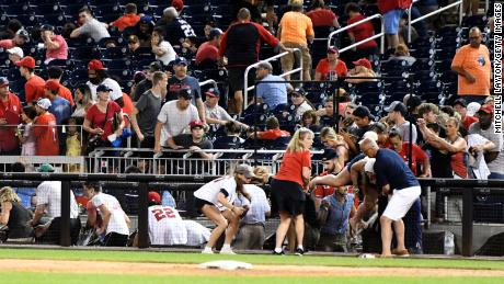 3 people wounded in shooting outside Nationals Park that sent players and fans scrambling
