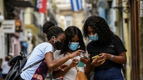 Anti-government protests have gained momentum through the growth of mobile internet in Cuba.