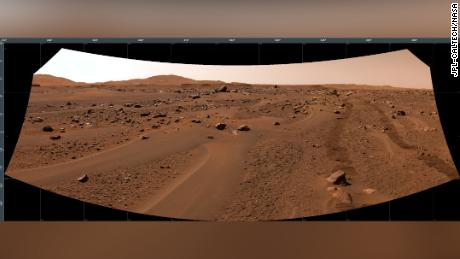 Perseverance took images of its own tracks on Mars on July 3, showing the progress of its summer road trip.