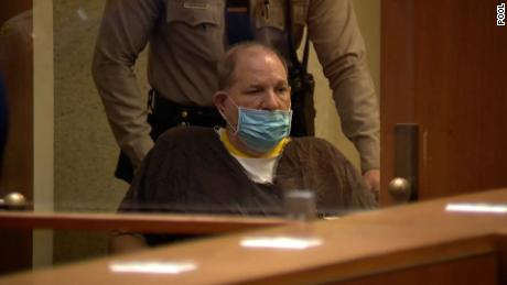 Harvey Weinstein, in a wheelchair, pleads not guilty to sexual assault charges in Los Angeles