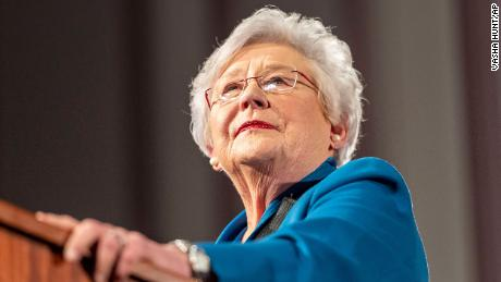 Alabama Republican Gov. Ivey says 'start blaming the unvaccinated folks' for rise in Covid cases