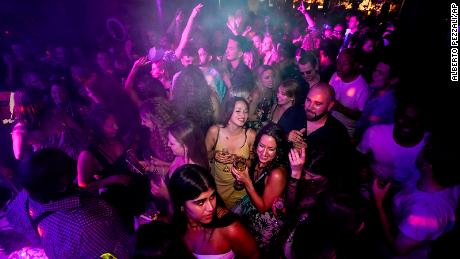 Thousands partied in nightclubs across England on July 19 when almost all coronavirus restrictions were scrapped. That same day, UK Prime Minister Boris Johnson announced that vaccine passports would be needed to enter nightclubs by September.