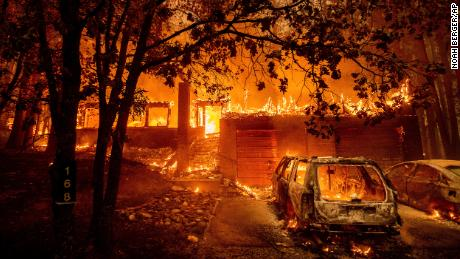 California's largest wildfire is threatening thousands of structures