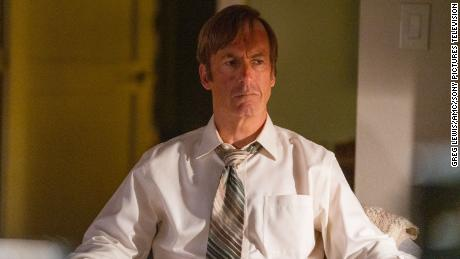 Bob Odenkirk plays the defense lawyer Jimmy McGill (also known as Saul Goodman) in