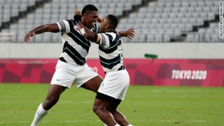 Fiji beats New Zealand to win the gold medal in rugby sevens at the Tokyo Olympics